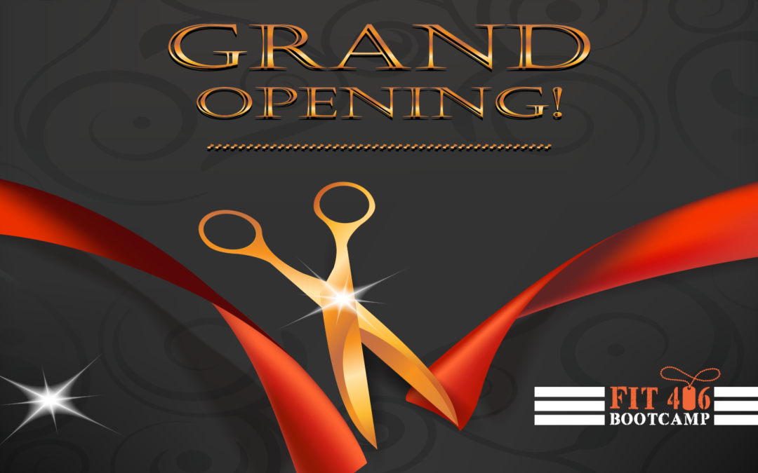 Grand Opening Sept 14, 2019