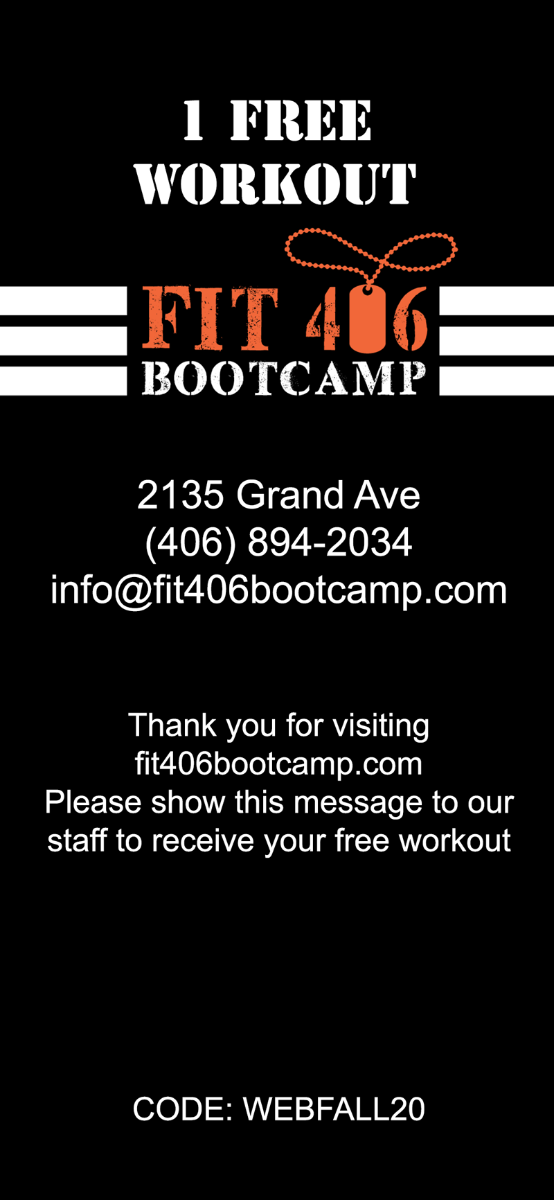 free bootcamp workout
